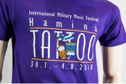 Hamina Tattoo T-paita, violetti