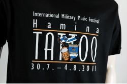 Hamina Tattoo T-paita, musta